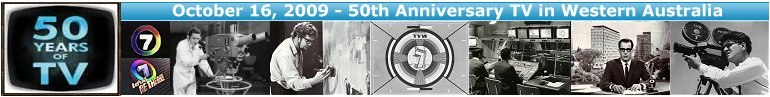 October 16, 2009 50th Anniversary of TV in WA